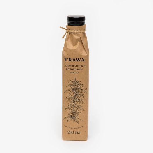 Сыродавленное конопляное масло TRAWA