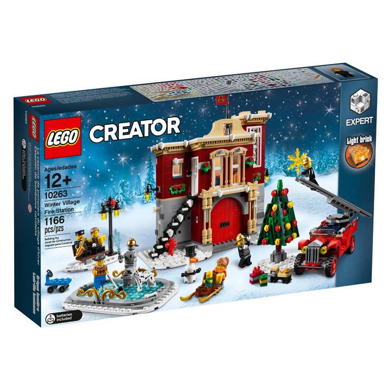 LEGO Winter Village Fire Station 10263