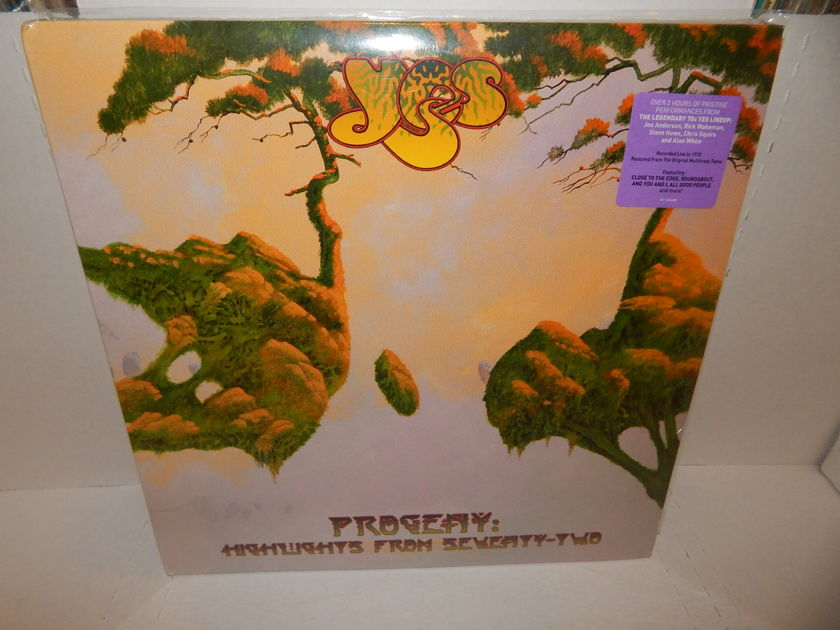 YES PROGENY Highlights From Seventy-Two - Anderson Howe Squire Wakeman White Factory SEALED Brand New MINT 3 LP