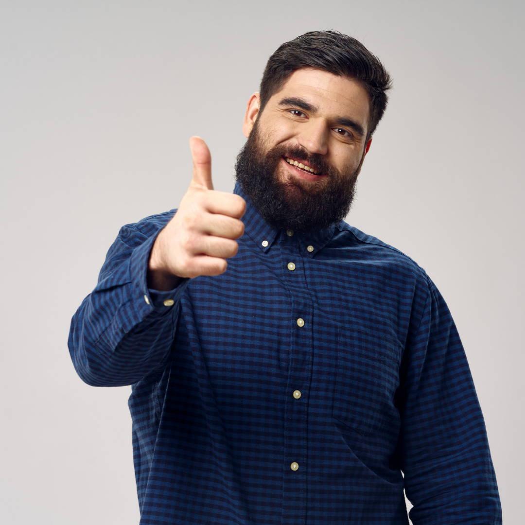 Man Made Beard Company Rated 5 stars