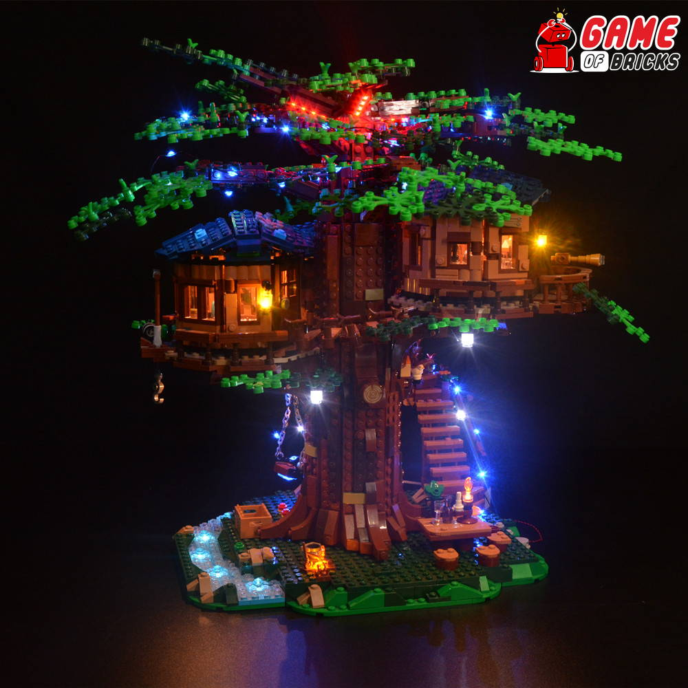 lego led light for lego tree house