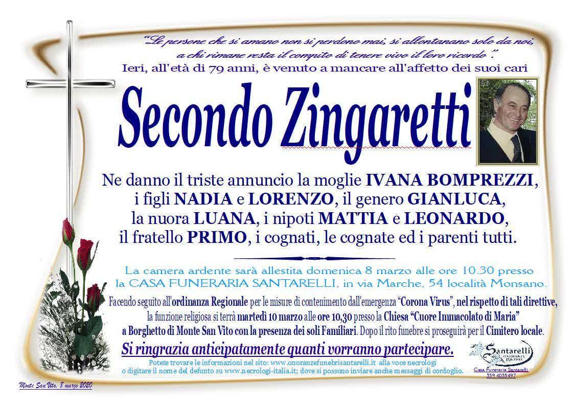 Secondo Zingaretti