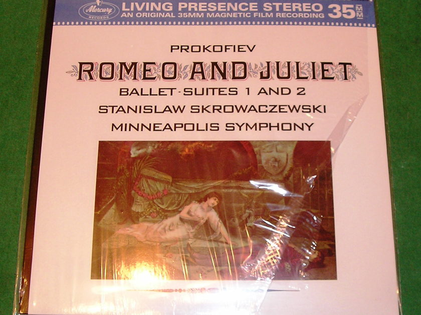 "PROKOFIEV  ""ROMEO & JULIET BALLET SUITES"" - MERCURY LIVING PRESENCE 35mm 180 GRAM  GERMAN REISSUE * NM 9/10 *"