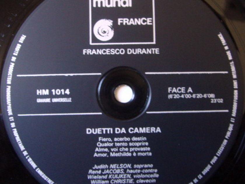★Audiophile★ Harmonia Mundi / KUIJKEN-CHRISTIE, - Durante Duetti Da Camera, NM!