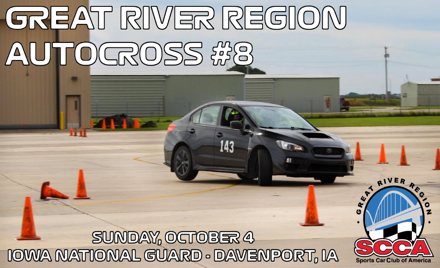 Great River Region SCCA Event #8