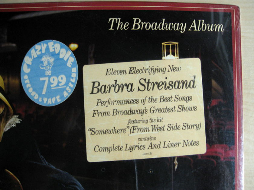 Barbra Streisand - The Broadway Album - SEALED - 1985 Columbia OC 40092