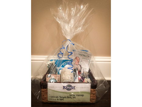 One Hour Massage Gift Basket