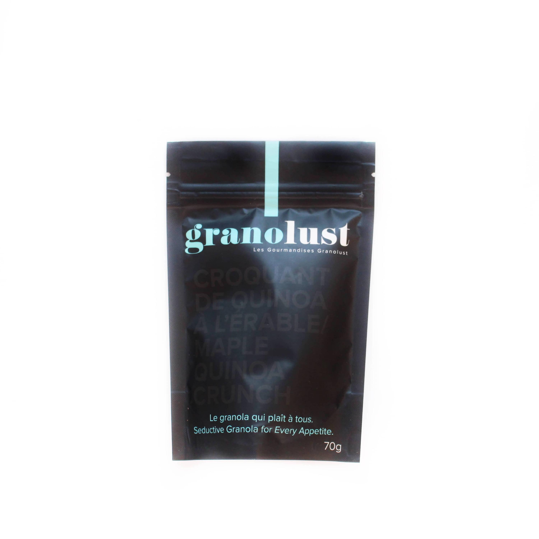 Granolust granola croquant de quinoa erable