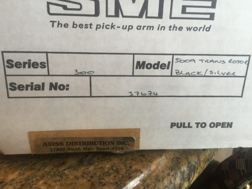 SME Model 309 Never used just mounted SME 309 Tonearm (Transrotor Branded)