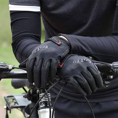 gants trottinette souples ventile
