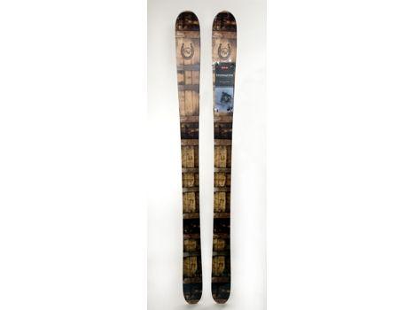 High West branded DPS Foundation Wailer 106 skis, 178cm