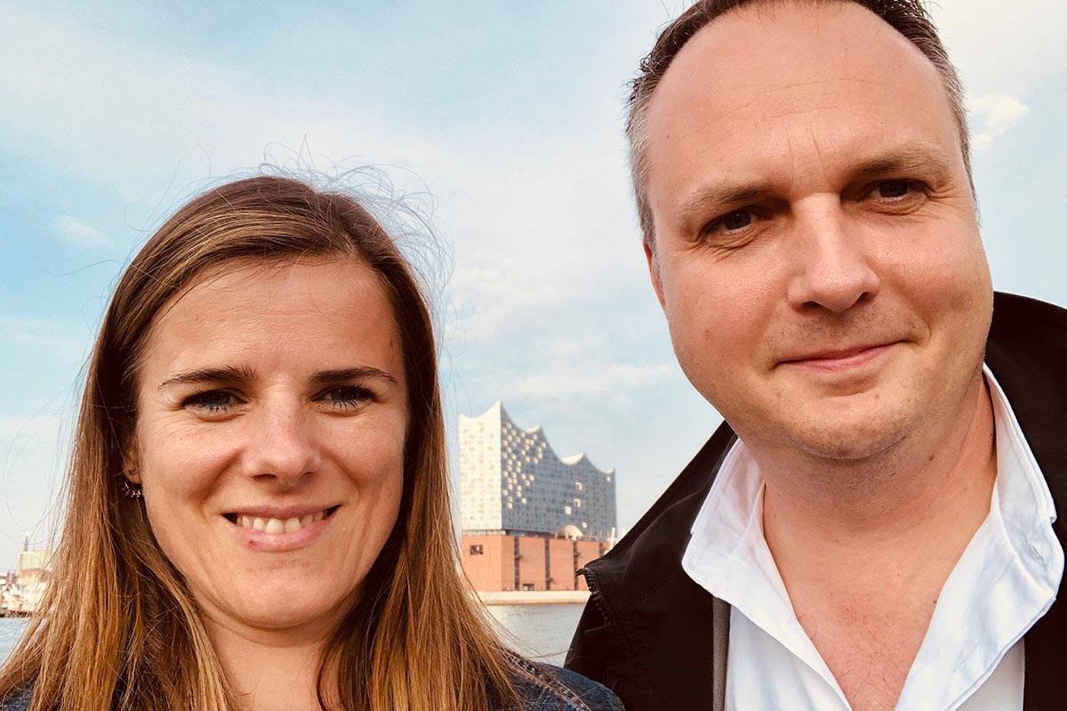 Das Gründerpaar Simone und Franz Messner