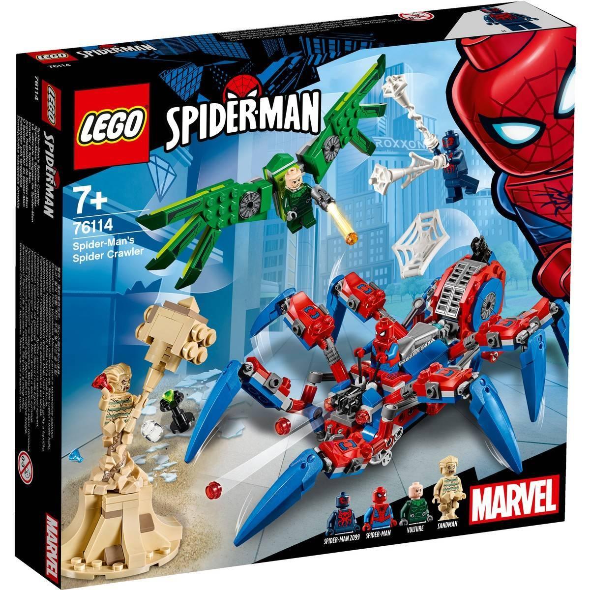 lego spiderman crawler