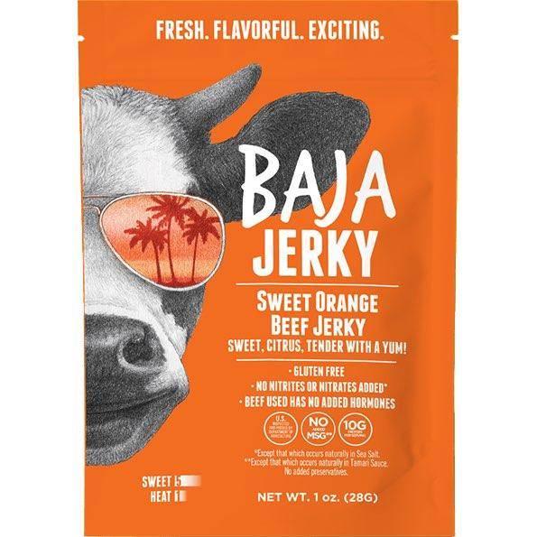 Baja Beef Jerky Gluten-Free Sweet Orange