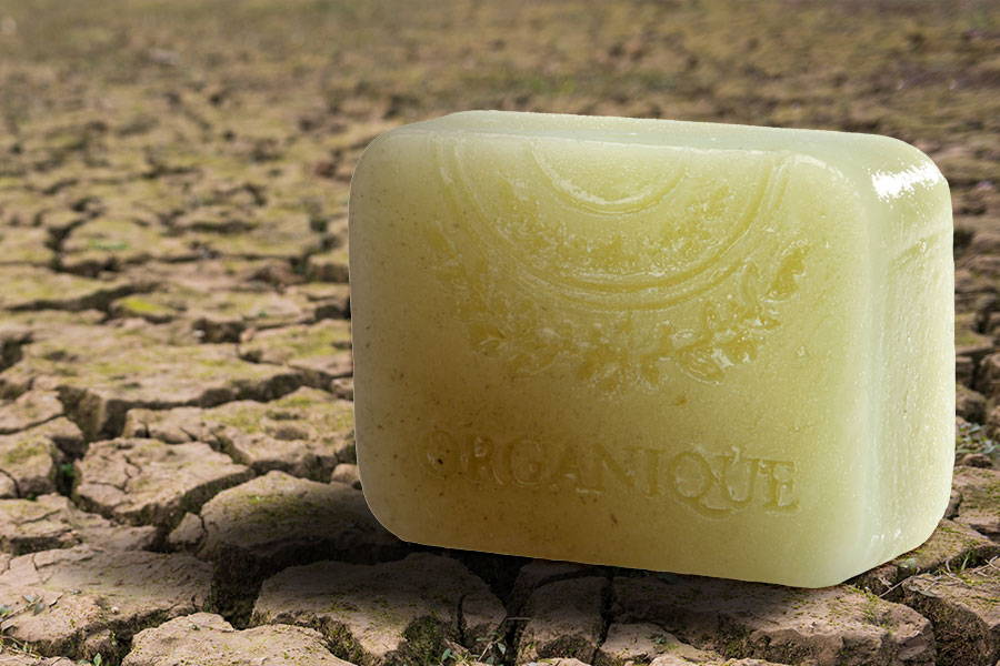 Glycerin Handmade Soap With Green Clay For Oily Skin from Organique