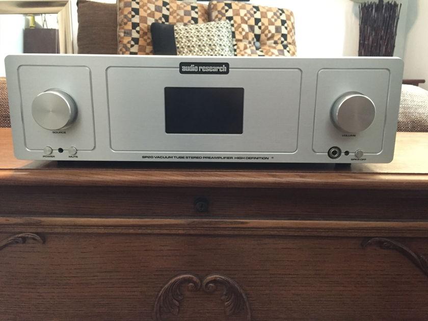Audio Research SP-20  Killer Headphone + Phono