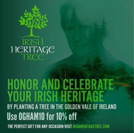 Irish Heritage Tree IrishCentral Tree Council of Ireland