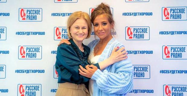 Дарья Донцова стала гостьей пятничного шоу «Всё к лучшему» на «Русском Радио» - Новости радио OnAir.ru