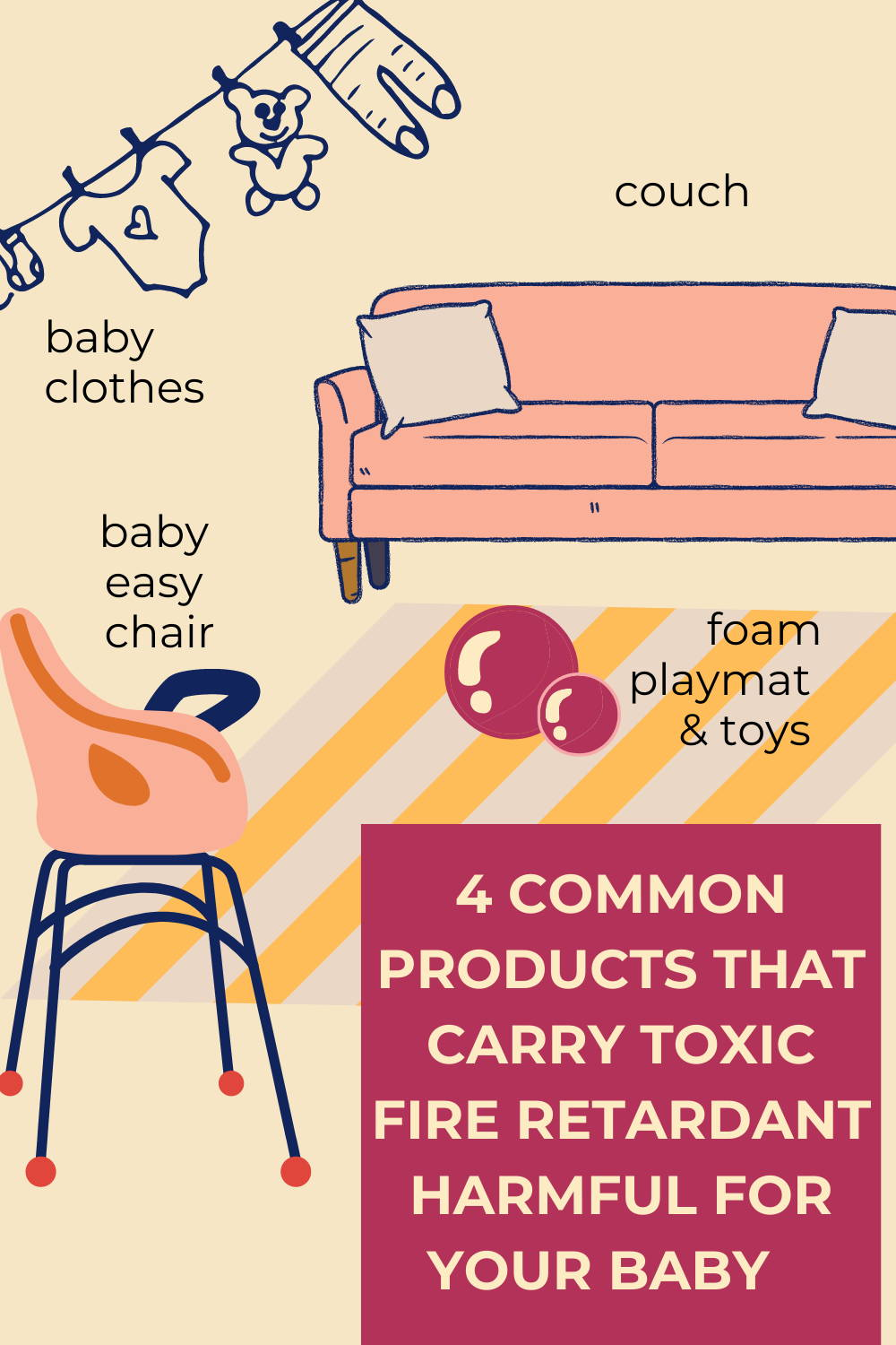 top toxins found in everyday products harmful for your baby