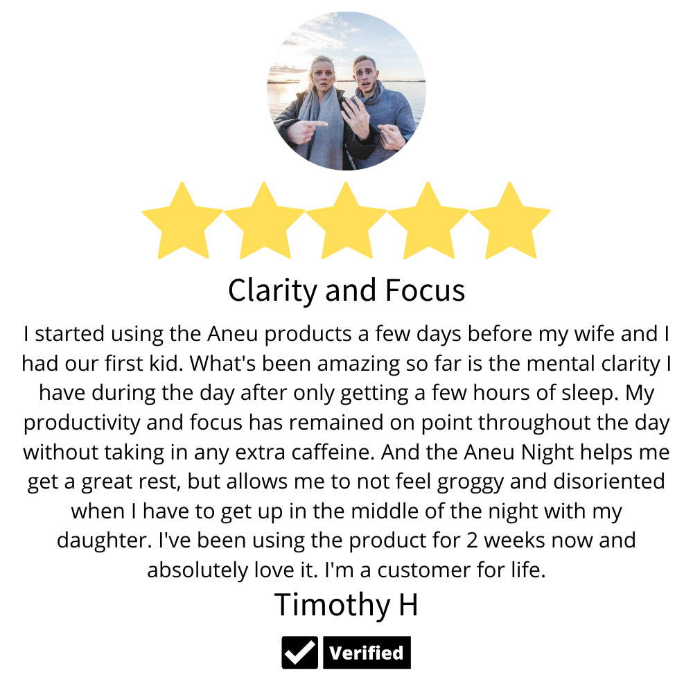 clarity and focus from the aneu products with mental clarity focus and productivity