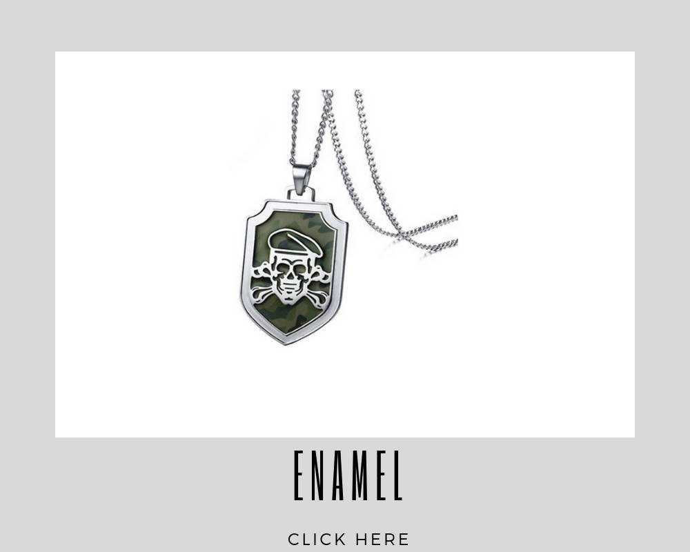 Custom Enamel Corporate Dog Tags