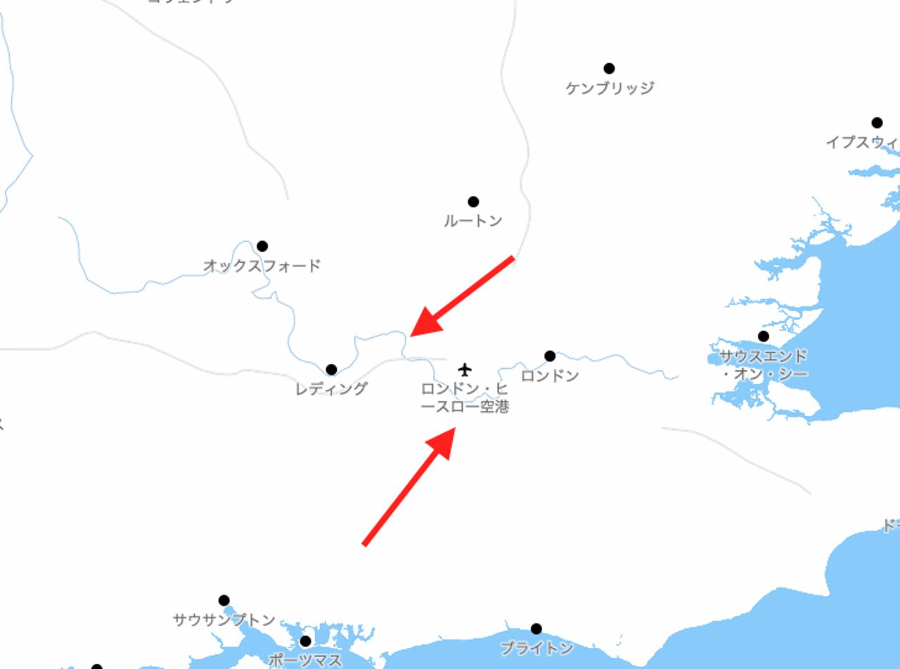 アップデート後のタイル(空港や河川の追加の説明)