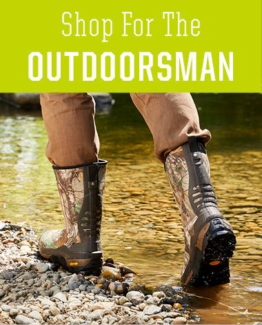 Shop the perfect holiday gifts for husbands, sons, and friends this holiday season. Collection includes rain boots and neoprene boots.