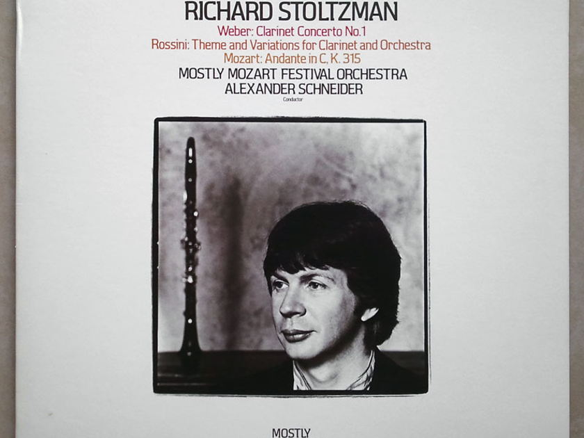 RCA Digital/Richard Stoltzman/Weber - Clarinet Concerto No.1, Rossini, Mozart / NM