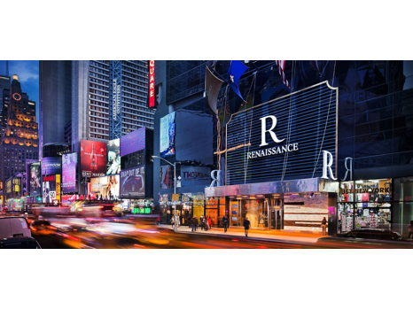Unique Stay!  Weekend at Renaissance NY Times Square