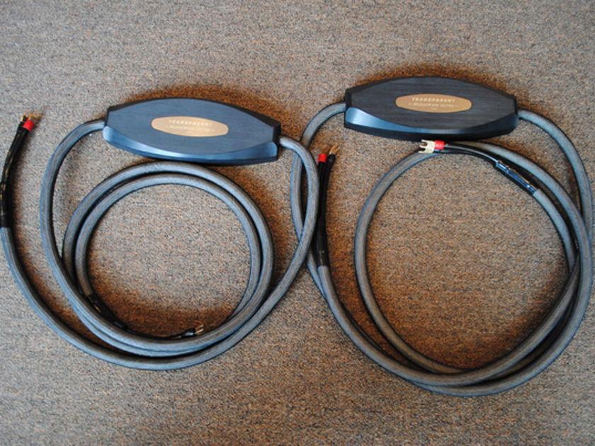 Transparent MWU12 MM1 Technology Speaker Cables