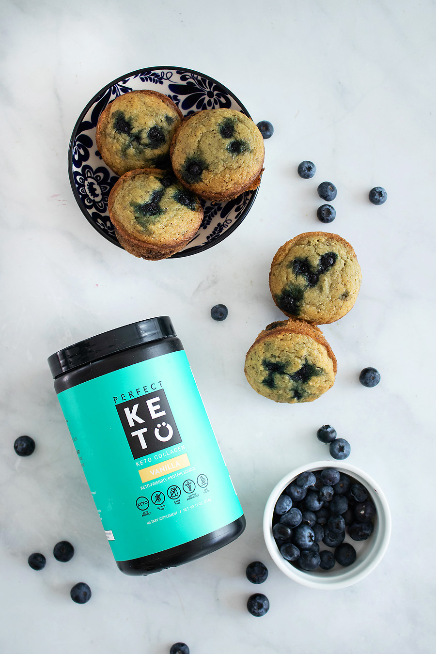 Blueberry Muffins with Collagen