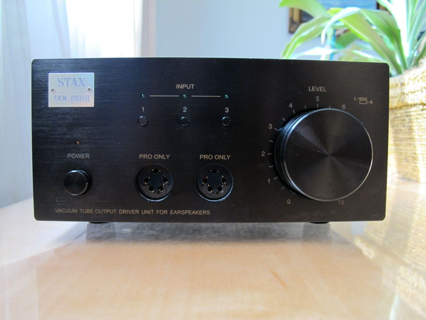 Stax  SRM 007t II tube amp