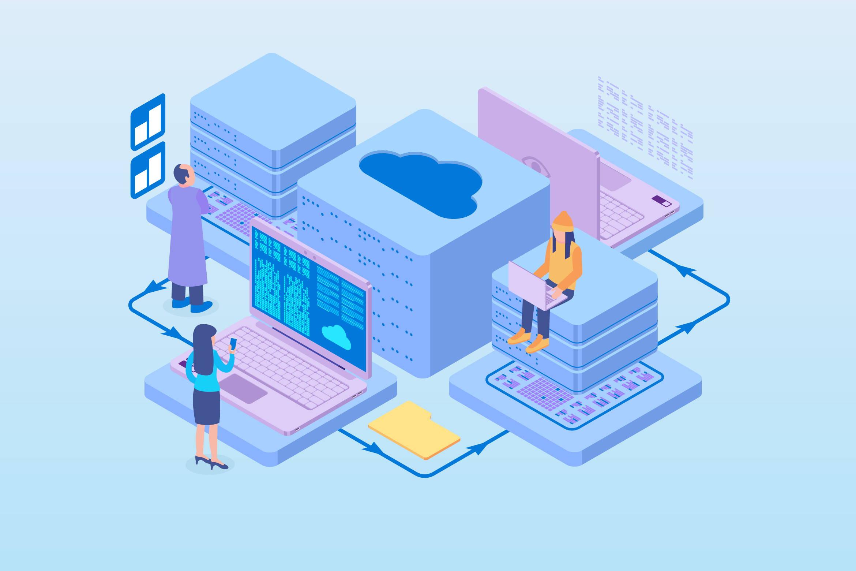 Shared software multi tenancy