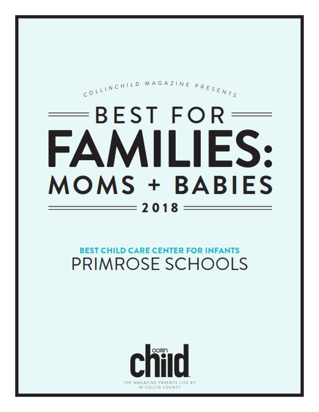 Best Private Preschool poster by Moms and Babies 2018