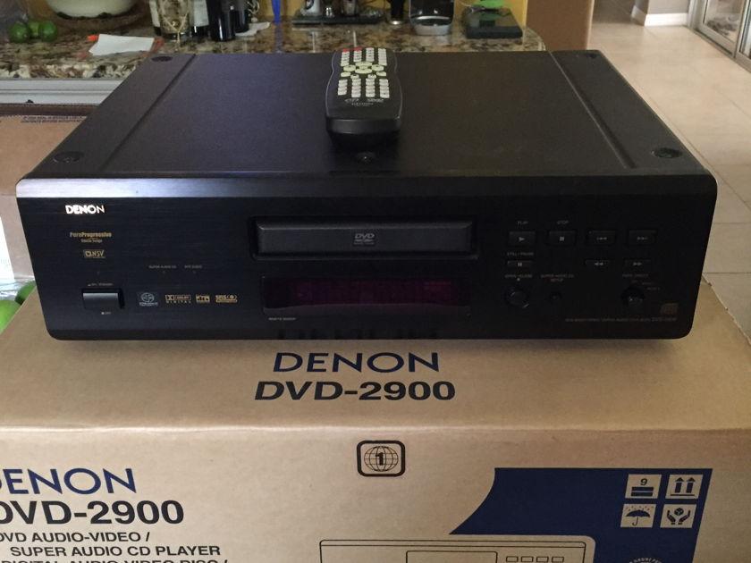 Denon DVD-2900 DVD/CD/SACD/DVD-Audio Player