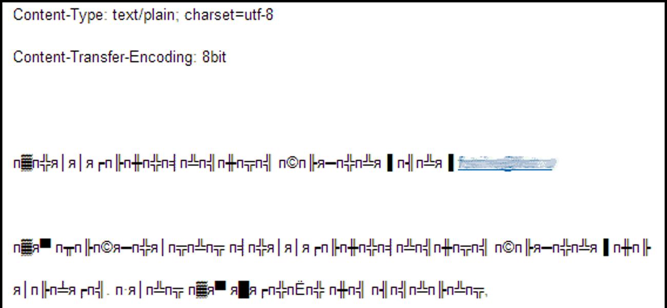 Проблемы с кодировкой отправленных писем на почту mail.ru в Codeigniter