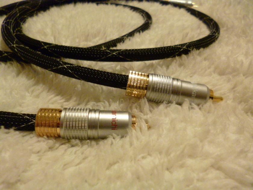 Schmitt Custom Audio Locking RCA Cables 1 meter 1pair