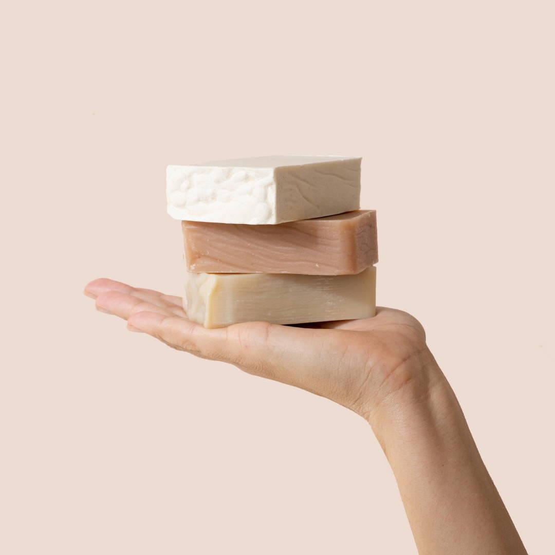 Product Shot soap bars