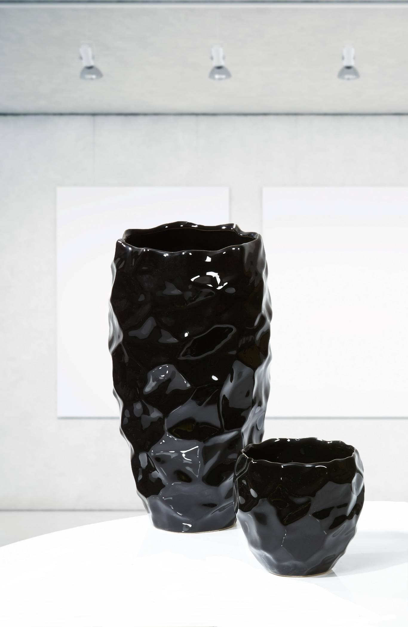 Finestgreen - Kaheku Bennet Vase Schwarz