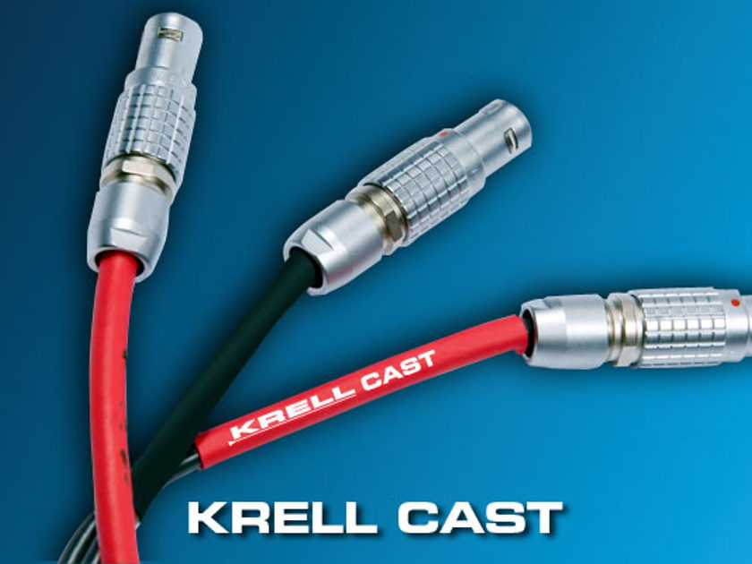 Krell / Nordost MMF CAST cables 10 meters