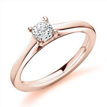 Buy gold and diamond engagement rings handmade to order in Surrey - Pobjoy Diamonds