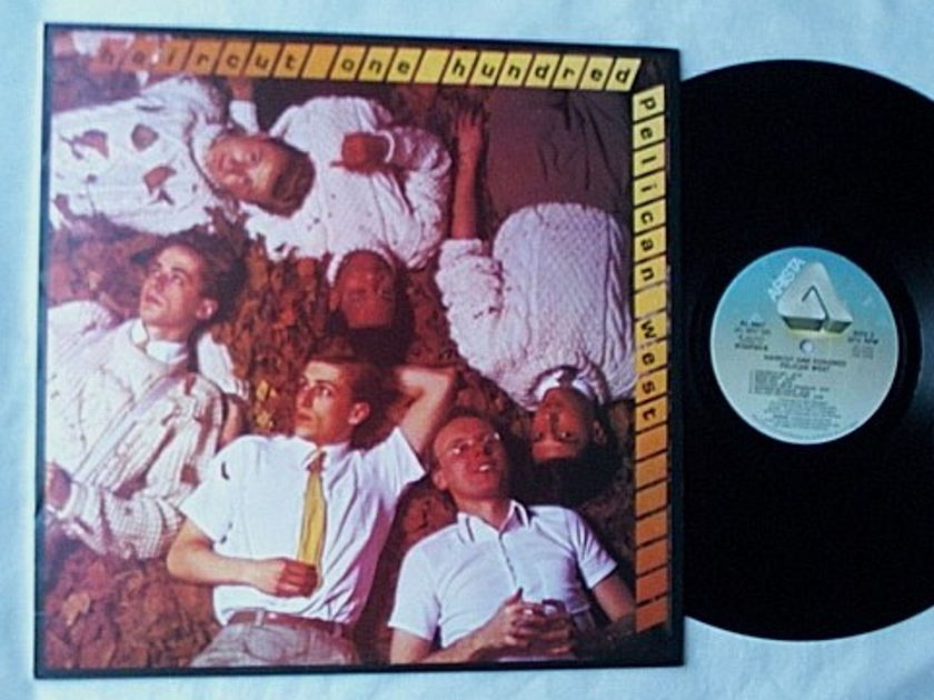 Haircut One Hundred - LP-Pelican west- their finest album