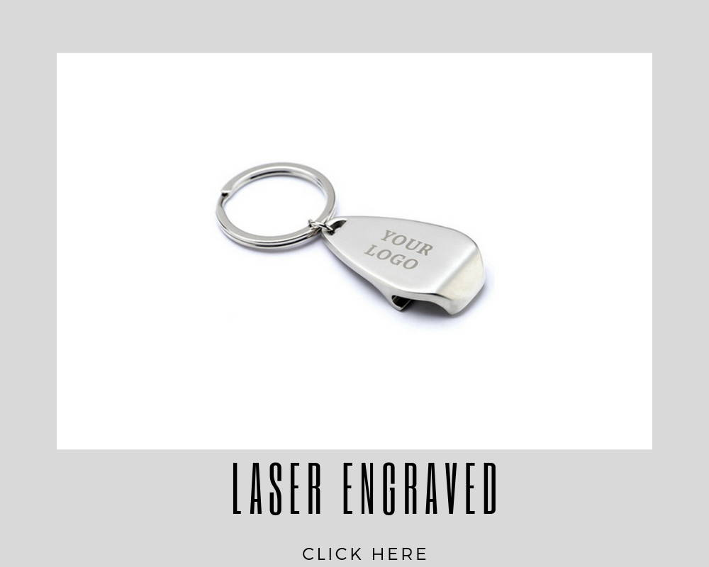 Custom Laser Engraved Key Rings