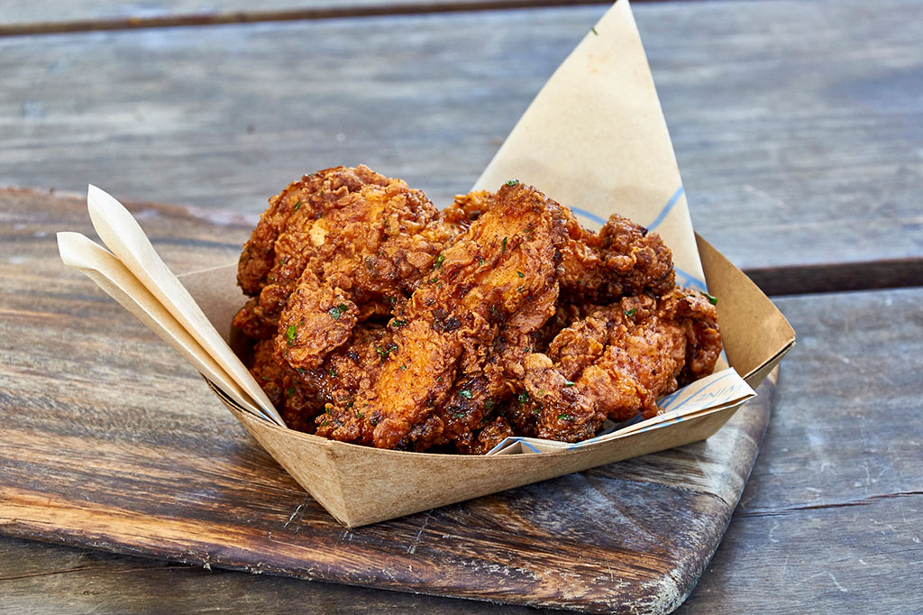 Spanish Fried Chicken offered on the menu of Supper to Go
