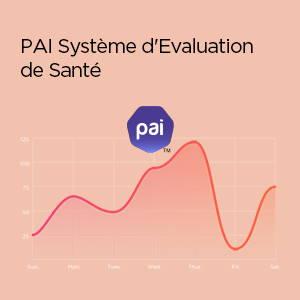 Amazfit Bip U - Système d'Evaluation de la Santé du PAI