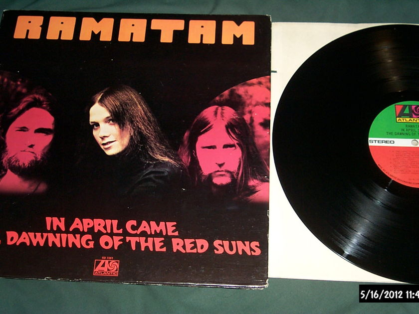Ramatam - In April Came The dawning of the red suns lp nm