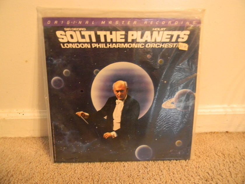Solti - London Philharmonic -  - Holst - The Planets -  MFSL