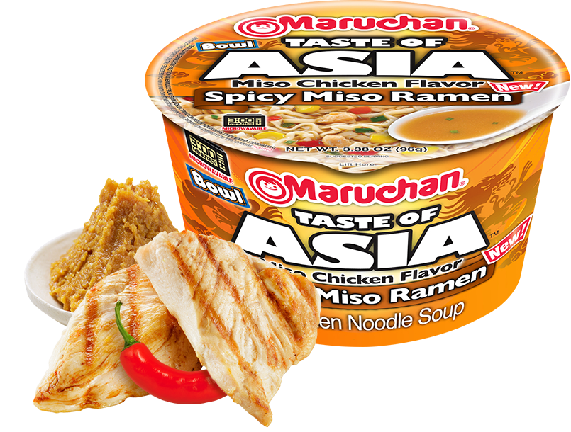 Taste of Asia Miso Chicken Flavor Spicy Miso Ramen