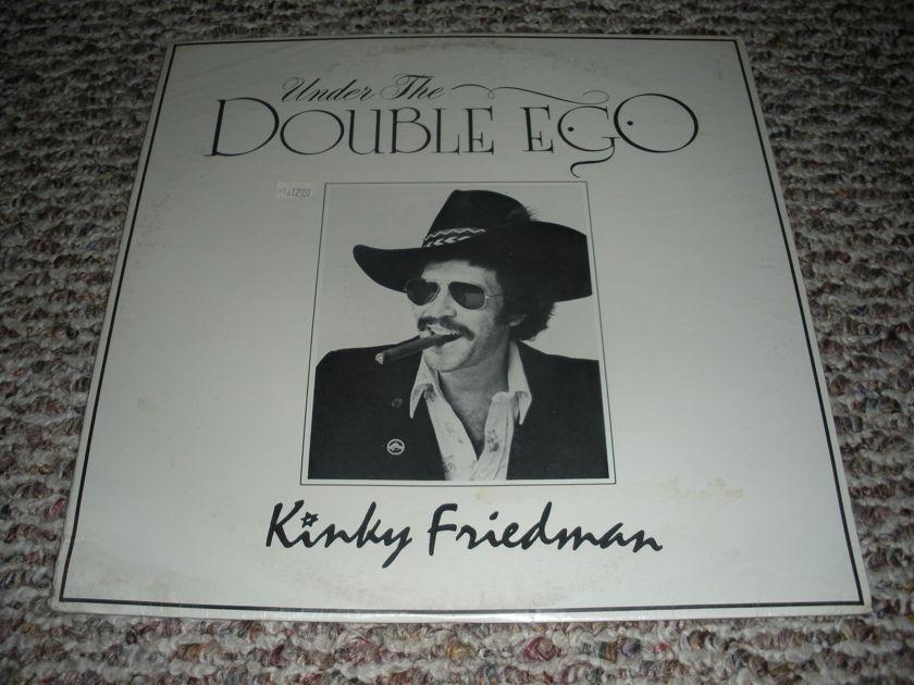* SALE * SEALED - Kinky Friedman Under the Double Ego   LP 101