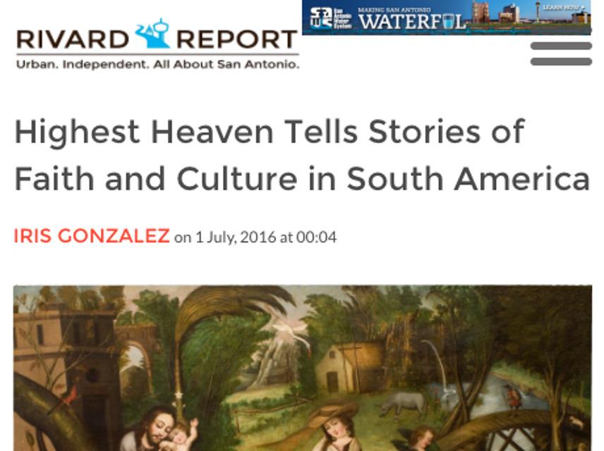 Rivard Report, ART, highest Heaven